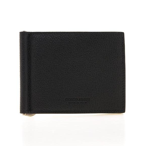 ジョルジオアルマーニ GIORGIO ARMANI 財布 メンズ 二つ折り財布(マネークリップ) ブラック 黒 BI-FOLD WALLET Y2R101 YEM4J 80001 BLACK