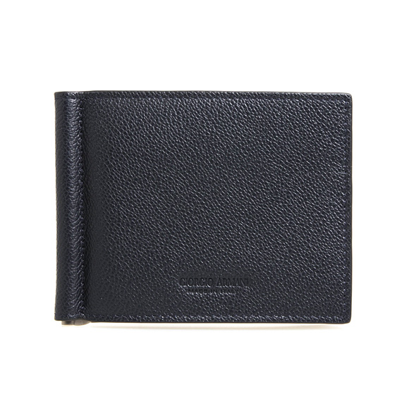 ジョルジオアルマーニ GIORGIO ARMANI 財布 メンズ 二つ折り財布(マネークリップ) ミッドナイトブルー Y2R101 YTH7J 80132 MIDNIGHT BLUE