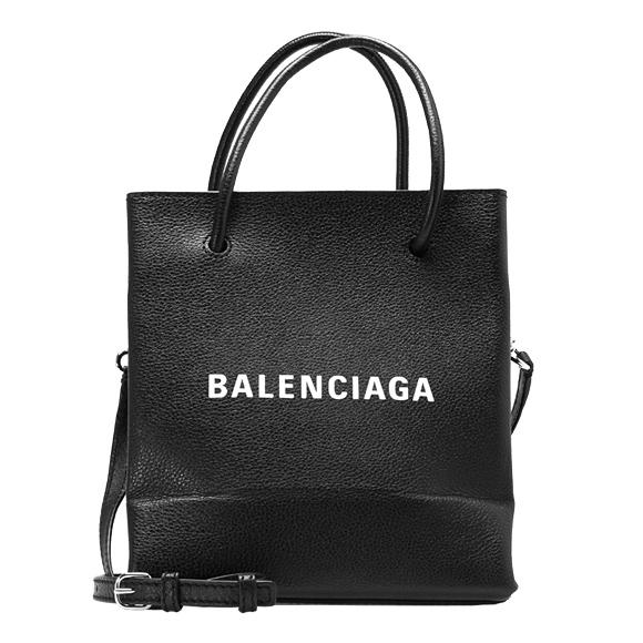 バレンシアガ BALENCIAGA バッグ レディース 2WAYトートバッグ ブラック 黒 SHOPPING TOTE XXS AJ [ショッピングトート] 528655 0AI1N 1060 NOIR/BLANC