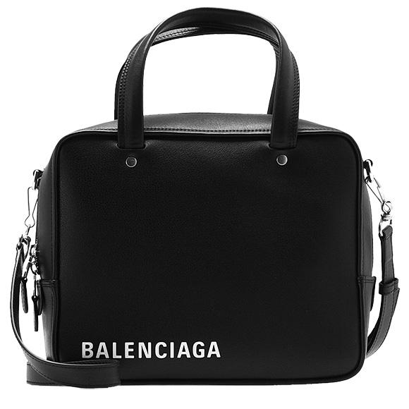 バレンシアガ BALENCIAGA バッグ レディース 2WAYハンド/ショルダーバッグ ブラック 黒 BORSA 528545 C8K02 1000 NOIR/BLANC
