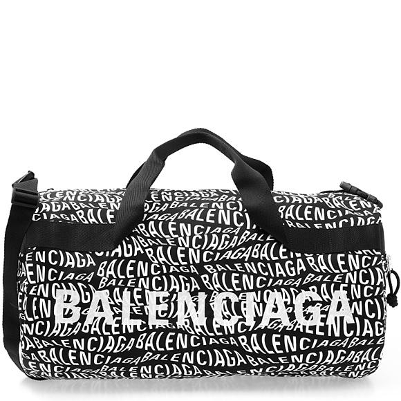 バレンシアガ BALENCIAGA バッグ WEB限定 メンズ 2WAYハンド ショルダーバッグ ブラック×ホワイト WHEEL 581807 BLACK WHITE GYM 高級品 BAG 1060 A4 9MIAN