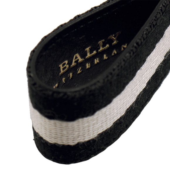 巴里/BALLY键环(钥匙圈)男子的黑色SIXI.SA 6174878 90 BLACK