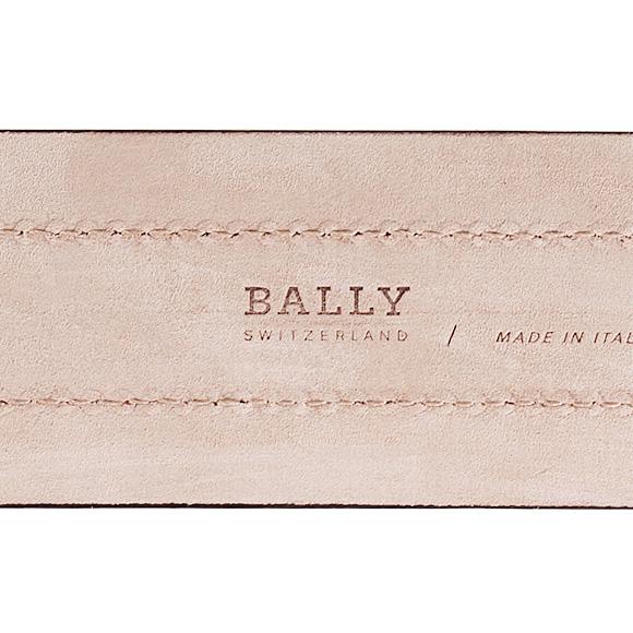 배리/BALLY 벨트 맨즈 TRAIN SPOTTING TIANIS-40/초콜릿 브라운 RED BALLY/BEIGE 981 CHOCOLATE