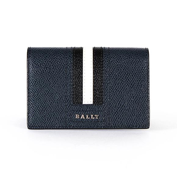 バリー BALLY メンズ 名刺入れ(カードケース) ニューブルー LETTERING TRAINSPOTTING TYKE.LT 6218027 NEW BLUE