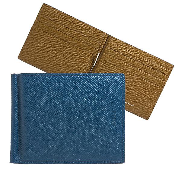 バリー BALLY 財布 メンズ 二つ折り財布(マネークリップ) ブルースカイ BALLY BRIGADIERE BODOLO.B 6232169 57 BLUE SKY