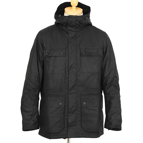 【訳あり】バブアー BARBOUR アウター メンズ ジャケット ブラック 黒 BARBOUR INTL IMBOARD WAX JKT MWX1376 BK71 BLACK サイズS【英国】