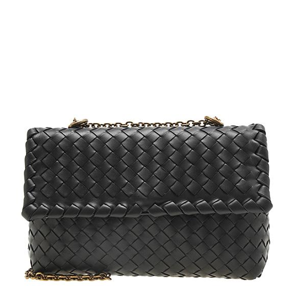 ボッテガヴェネタ BOTTEGA VENETA bag lady shoulder bag black INTRECCIATO NAPPA BABY  OLIMPIA BAG 405739 VO0AD 1000 NERO 359a266af9