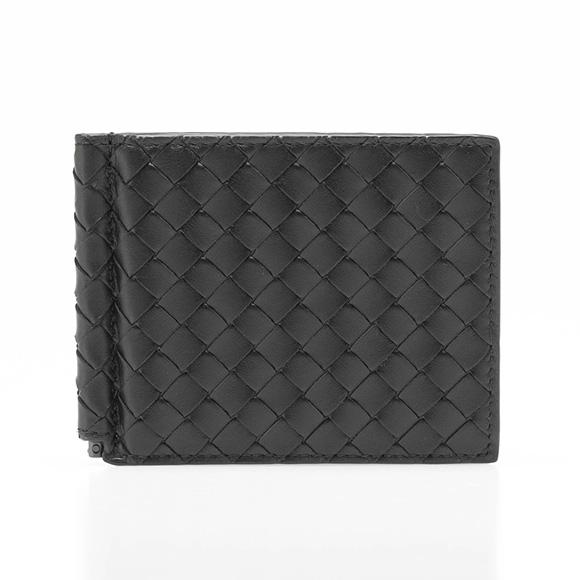 ボッテガヴェネタ BOTTEGA VENETA 財布 メンズ 二つ折り財布(マネークリップ) ブラック 黒 123180 V4651 1000 NERO