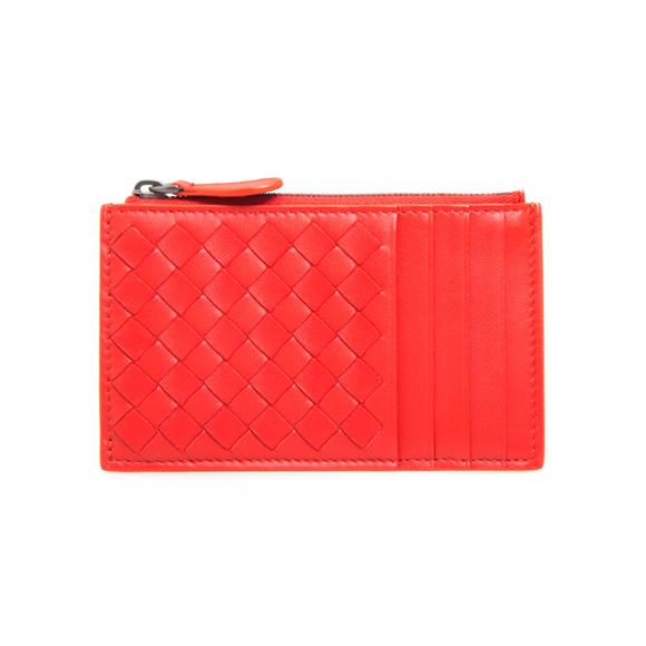 ボッテガヴェネタ BOTTEGA VENETA 財布 レディース カードケース/コインケース ブライトレッド CARD CASE 577700 V1EED 8913 BRIGHT RED/BRIGHT RED