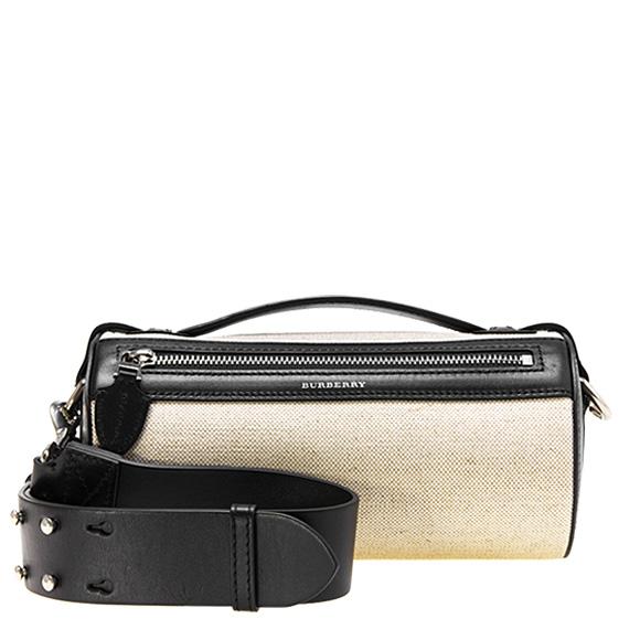 84be9ea6 Burberry BURBERRY bag lady 2WAY shoulder bag beige / black BARREL BAG  4074968 LL6:ACGBS ...