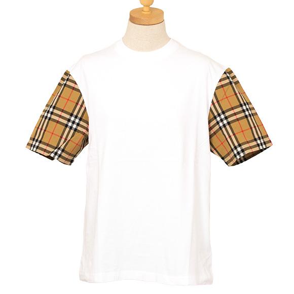 バーバリー BURBERRY トップス レディース 半袖Tシャツ ホワイト SERRA 4072349 ABTOT 10000 WHITE 【英国】