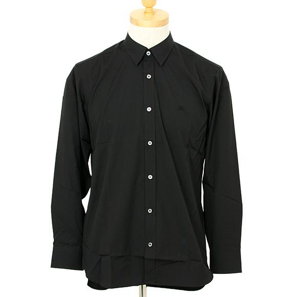 バーバリー BURBERRY メンズ 長袖シャツ ブラック 黒 WILLIAN 8003074 ABOYD A1189 BLACK 【英国】