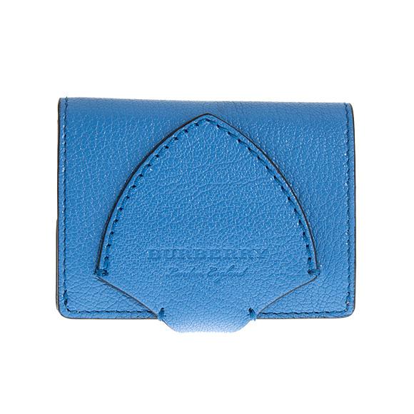バーバリー BURBERRY 財布 レディース 二つ折り財布 ミニ財布 ハイドレンジアブルー SM HARLOW 4074989 GL5:ACGPE 43710 HYDRANGEA BLUE 【英国】【母の日】