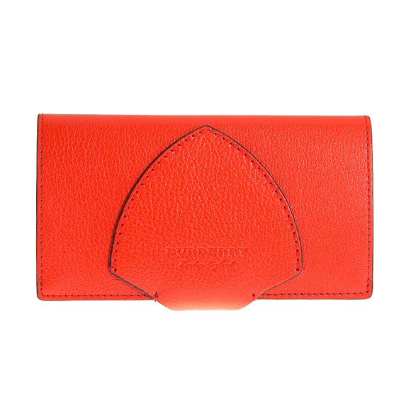 fafb4c90cb32 Burberry BURBERRY wallet Lady s long wallet blight red HARLOW 4074979  GL5 ACGPE 62200 BRIGHT RED