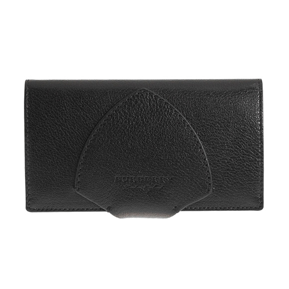 バーバリー BURBERRY 財布 レディース 長財布 ブラック 黒 HARLOW 4076628 GL5:ACGPE 00100 BLACK 【英国】