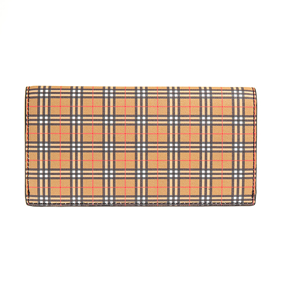 4f7049c20e87 Footnote   CAVENDISH   The long wallet where a vintage check to assume  Burberry a symbol attracts an eye. The tender leather which I tan it in small  check ...