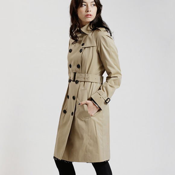 Burberry BURBERRY coat ladies trench KENSINGTON LONG 3900458 DK 70,500 HONEY 80367e9fc0b