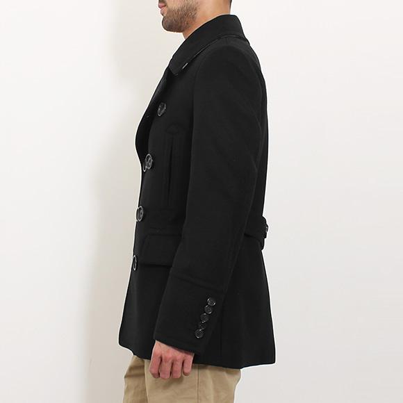 버 버 리 BURBERRY 코트 남성 P 코트 NORTON 블랙 4015932 AAHZB 00100 BLACK
