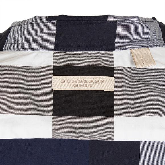 바바리 BURBERRY 셔츠 맨즈 셔츠 인디 5푼 루 FRED 4005653 PKT:AAWEV 4636 B INDIGO BLUE BURBERRY BRIT