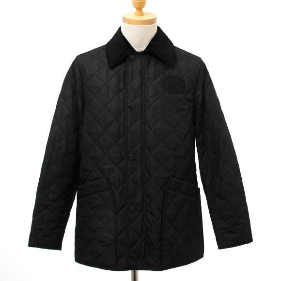 バーバリー BURBERRY メンズ キルティングジャケット ブラック COTSWOLD 8003278 ACHBC A1189 BLACK【英国】