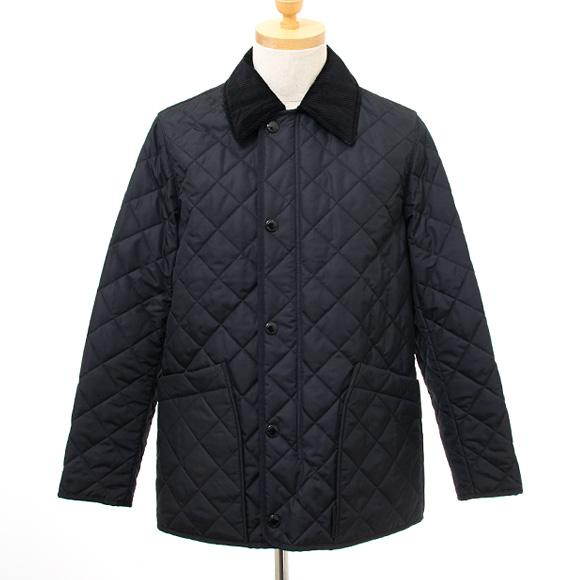 バーバリー BURBERRY メンズ キルティングジャケット ネイビー COTSWOLD 80143221 NB:ACHBC A1222 NAVY【英国】