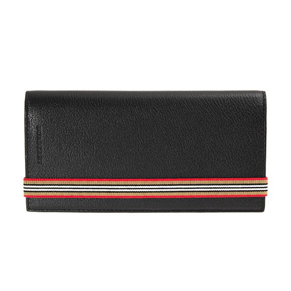 財布 GL5:ACGPE CAVENDISH 00100 長財布(小銭入れ付) BLACK【英国】 黒 4074910 バーバリー ブラック BURBERRY メンズ