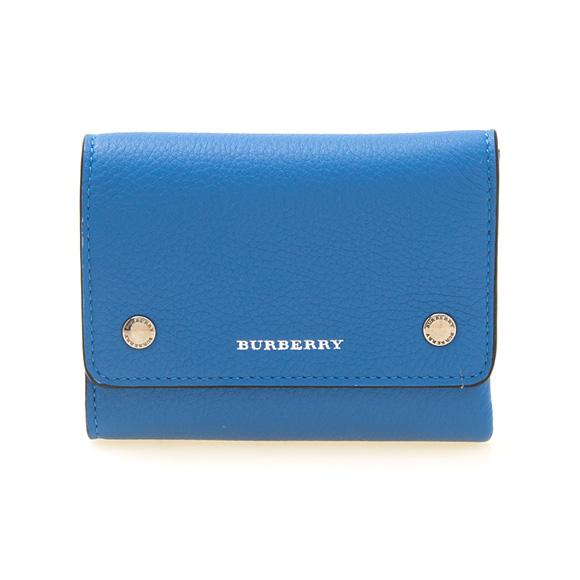 バーバリー BURBERRY 財布 レディース 三つ折り財布 ミニ財布 ハイドレンジアブルー LUDLOW 8005565 ML1:ACBGX A1269 HYDRANGEA BLUE【英国】