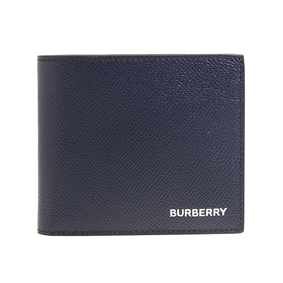 バーバリー BURBERRY 財布 メンズ 二つ折り財布 リージェンシーブルー REG CC BILL8 8014655 TT8:114498 A1250 REGENCY BLUE【英国】