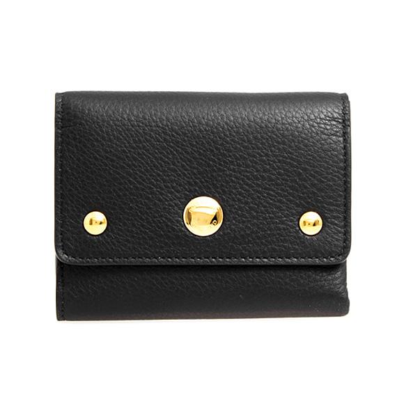 バーバリー BURBERRY 財布 レディース 三つ折り財布 ブラック 黒 LUDLOW N 8009711 YSB:ACBGX A1189 BLACK【英国】