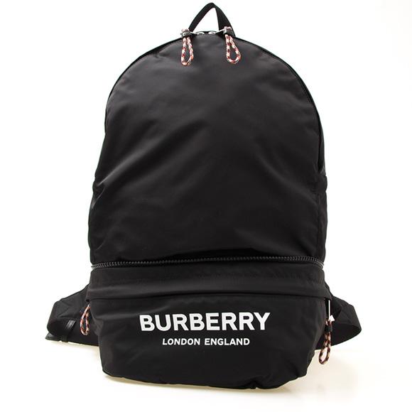 バーバリー BURBERRY バッグ 2WAY バックパック(リュック)/ウエストバッグ ブラック BACKPACK/BBAG 80135191 PN9:110985 A1189 BLACK【A4】【英国】