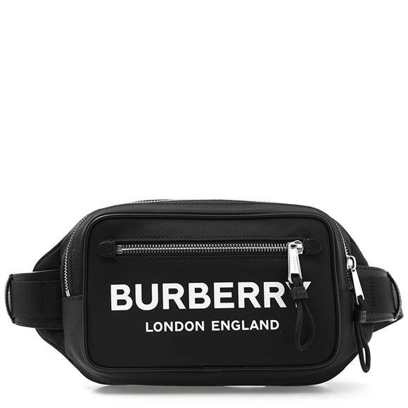 バーバリー BURBERRY バッグ メンズ ウエストバッグ ブラック WEST 80146031 PN9:110985 A1189 BLACK【英国】
