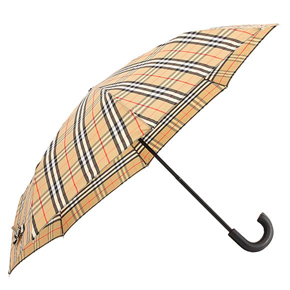 バーバリー BURBERRY 傘 折りたたみ傘 アーカイブベージュ(ヴィンテージチェック柄) TRAFALGAR CHECK 80247821 AAQTV A7026 ARCHIVE BEIGE【英国】