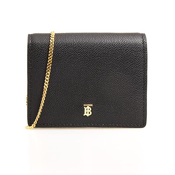 バーバリー BURBERRY 財布 レディース カードケース/コインケース ブラック JADE CH 80224361 RU6:117684 A1189 BLACK【英国】