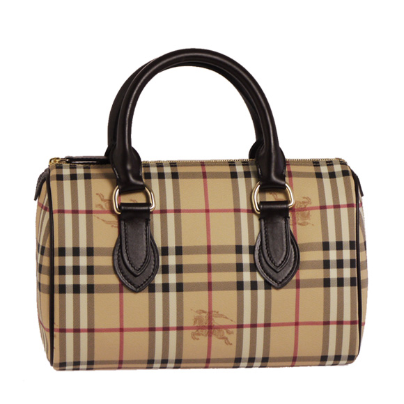 BURBERRY / Burberry women's handbags classical check LL LG CHESTER HYM 3460094 HM1415 2070T CLASSIC CHECK / CHOCO BURBERRY