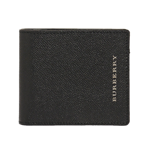 Men's BURBERRY / Burberry wallet 2 fold wallet coin put with black CC BILL COIN 3861182 LON:AALXI 00100 BLACK