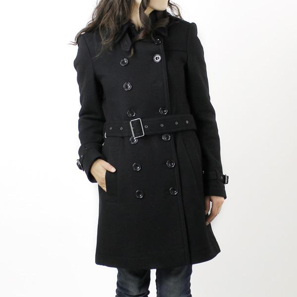 Burberry BURBERRY women's world trench coat black CROMBROOKSL 3887941 AANJE 00100 BLACK