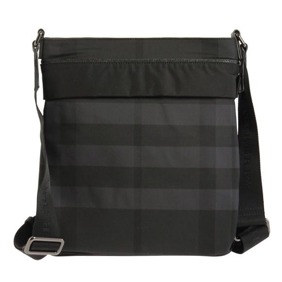 BURBERRY/바바리 가방 맨즈 숄더백 비트 체크/블랙 MAGNUS MBJ 3890801 0010 T BLACK