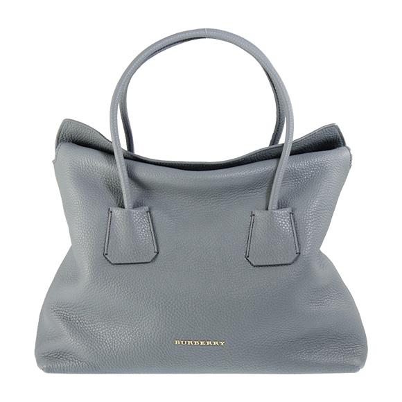 burberry bag grey