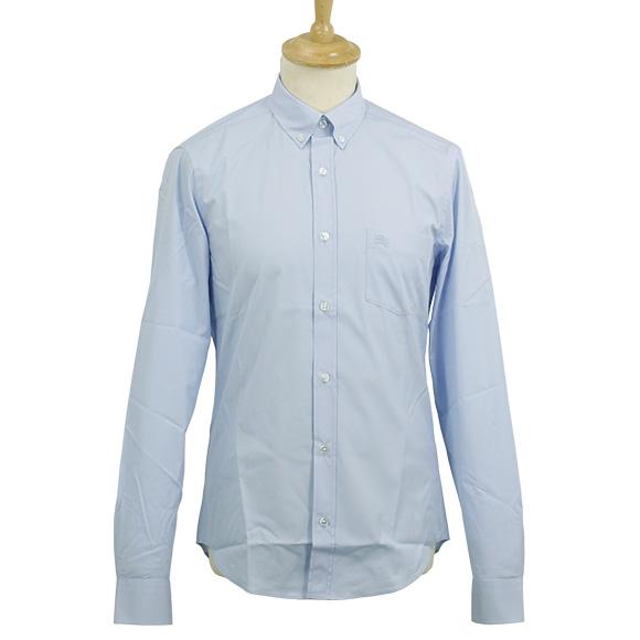 BURBERRY / Burberry shirt men's long sleeve button down shirt pale blue FRED PKT EKD 3522176 TUS 45600 PALE BLUE BURBERRY BRIT