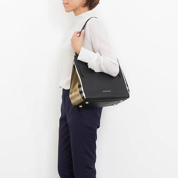 BURBERRY / Burberry bags ladies Tote Bag Black LL SM CANTERBURY 3958975 HHL 0010T BLACK