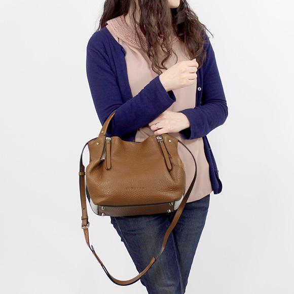 brown burberry bag