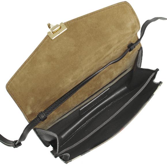 BURBERRY 버 버 리 가방 여성용 2WAY 숄더백 블랙 SM MACKEN 3980825 HHL: COCA 0010T BLACK