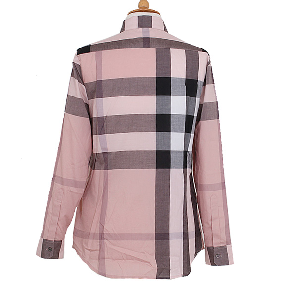 burberry pink shirt