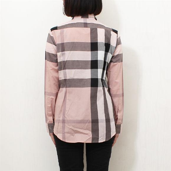 Burberry BURBERRY shirt women's shirts antique pink TRI85712 3999107 AALUF 6590B ANTIQUE PINK
