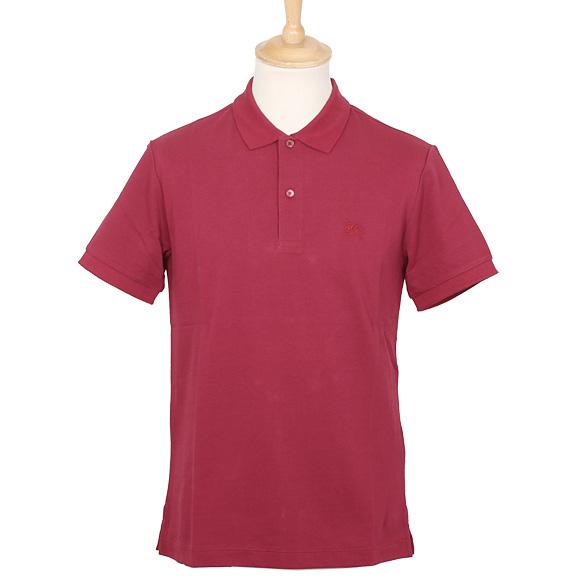 バーバリー BURBERRY メンズ ポロシャツ ラズベリー OXFORD 3981520 ABOWN 65150 RASPBERRY SORBET【英国】