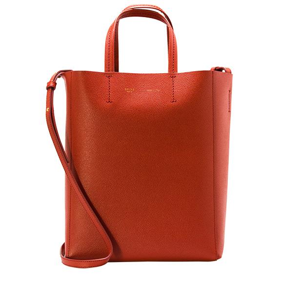 セリーヌ CELINE バッグ レディース 2WAYトートバッグ SMALL VERTICAL [スモール バーティカル] フォックスレッド 17618 3XBA 27FX FOX RED