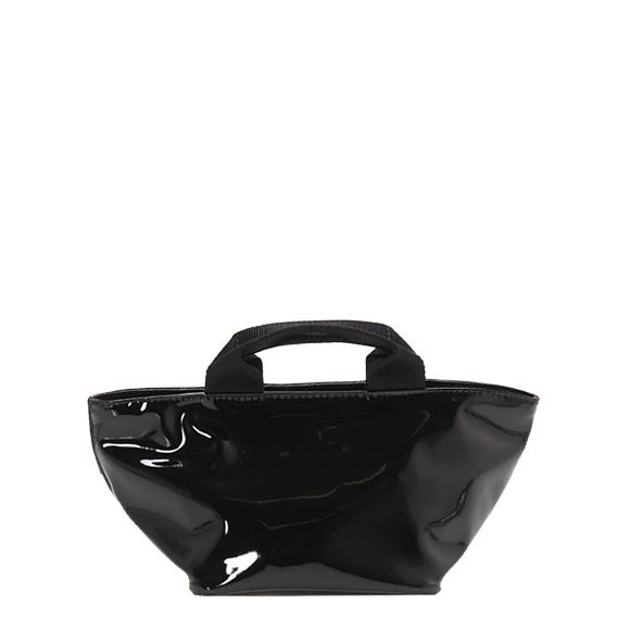 エルベシャプリエ HERVE CHAPELIER ヴェルニ舟型トートS ブラック 黒 SHOPPING MEDI 901VE 09 NOIR