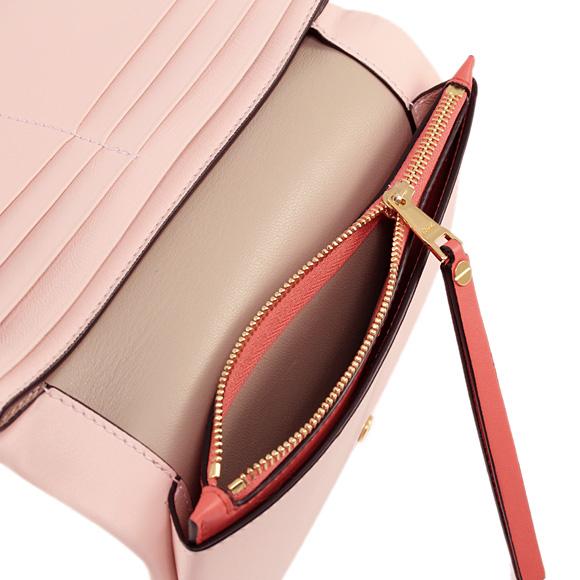 Chloe-클로이 지갑 여성용 장 지갑 FOLD OVER 블로섬 핑크 3P0743 A10 B9B BLOSSOM PINK