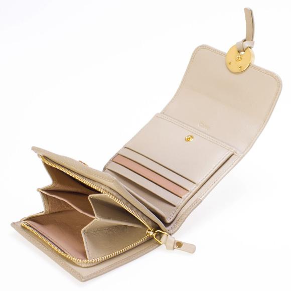 2ea7210d9991 クロエ CHLOE 財布 レディース 三つ折り財布 INDY SQUARE [インディー ...