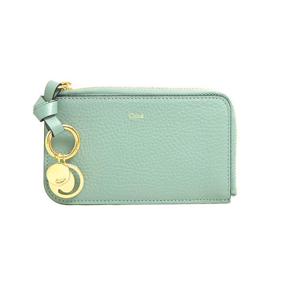クロエ CHLOE 財布 レディース カードケース/コインケース フェードブルー ALPHABET CARD HOLDERS CHC17AP944 / 3P0944 H9Q 44L FADED BLUE